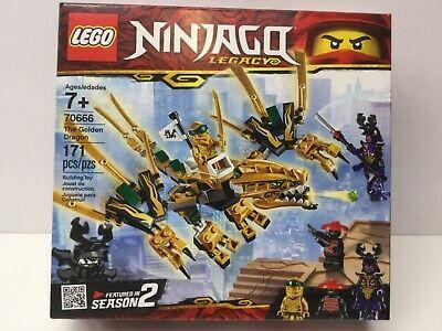 LEGO Ninjago Legacy 70666 The Golden Dragon Set NIB