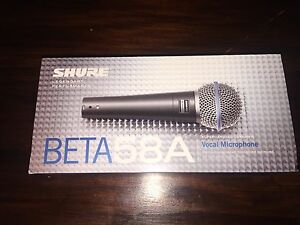 Shure BETA 58A vocal microphone Paddington Brisbane North West Preview