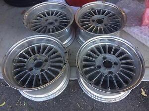 SSR EX-C Fins 15 inch alloy mag wheels 4 stud 4 x 114.3 Greenbank Logan Area Preview