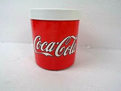 Coca Cola Coke Reusable Freezable Drink Cooler Cans/Bottles - Made by Lifoam
