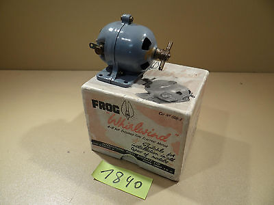 Antriebsmotor Dynamo Frog Whirlwind mit OVP England 4-6 Volt D.C. Dampfmaschine