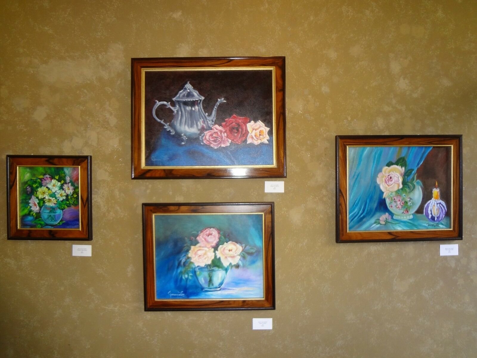 Birds Of The World Realism, Original Oil Painting ART DECO  - $39.00