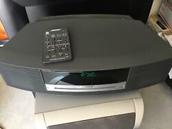 BOSE Wave Music System CD Player Radio Alarm Clock w/ Remote- NICE