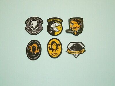 1/6 Scale Metal Gear Solid Fabric Patches for action figures