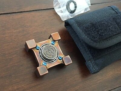 STEEL FLAME Killbox RING SPIN Spinner Yes / NO Sides WITH Burnley Rose Slug