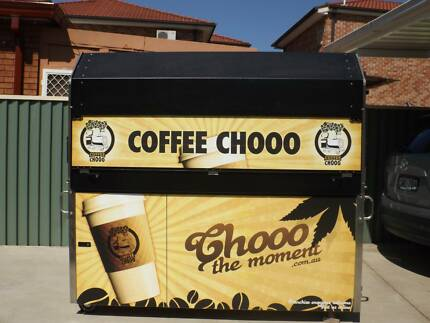 Near New Coffee Cart For Sale Chester Hill Bankstown Area Preview