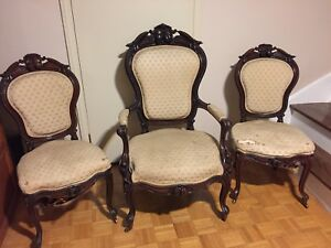 Antique Parlour Chairs