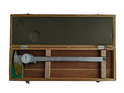 Mitutoyo 12 Inch Dial Vernier Calipers With Wood Case