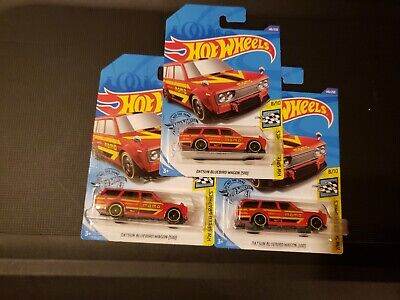 Datsun Bluebird Wagon (510) #146 Red Momo 2020 Hot Wheels Lot of 3!!!! VHTF