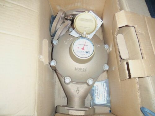 "Neptune 2"" T-10 Water Meter Direct Reading NWT LOOK!"