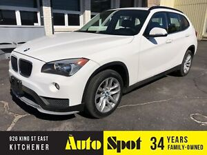 2015 BMW X1 xDrive28i/LEATHER/PANORAMIC ROOF