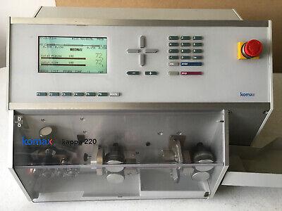 Komax Kappa 220 Automatic Wire Processing Measure Cut And Strip Machine