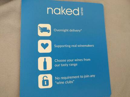 Nakedwines $100 voucher