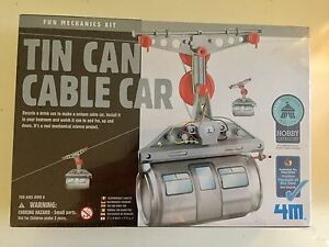 4M Tin Can Cable Car - new in box