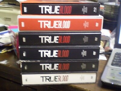 (6) True Blood Season Blu-Ray/DVD Lot: Seasons 1-6    w/Slipcovers   Anna Paquin](Anna Paquin Halloween)