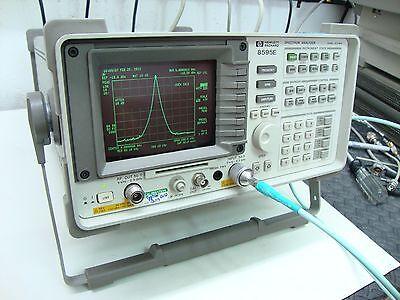 Hp Agilent 8595e Spectrum Analyzer Calibrated With Tracking Generator 103 Quasi