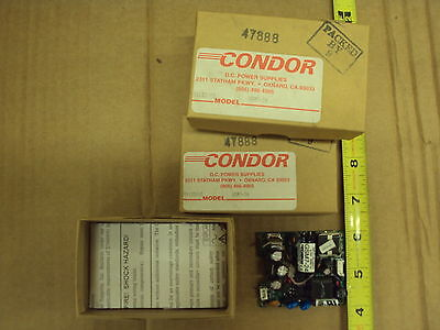Dc Power Supply 24vdc 0.3 Amps100-240vac Input Condor Gsm7-24 Lot Of 4 Each
