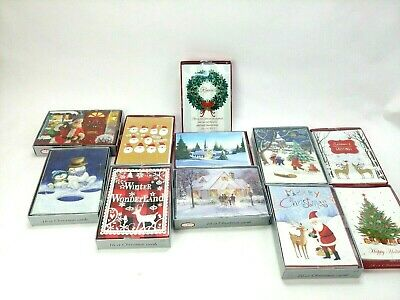 New Boxed Christmas Cards 16 Count  ()