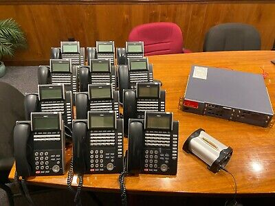 Nec Univerge Sv8100 Voip Phone System With 16 Wired And 23 Voip Phones
