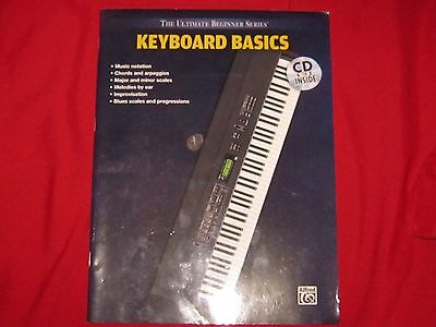 PAPERBACK MMVI  THE ULTIMATE BEGINNER SERIES - KEYBOARD BASICS - ALFRED *NO CD* Alfred Ultimate Beginner Series Keyboard