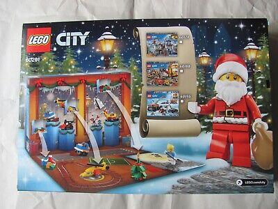 Lego City 60201 Advent Calendar 313PC Retired Set NEW
