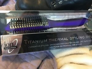 Titanium Thermal Stylng Brush/sealed in box