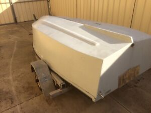 winter project boat and trailer