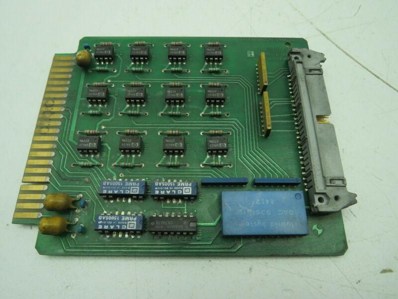 Cincinnati PCB 820720 Circuit Board Card 820721
