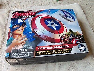 New Marvel Avengers Captain America Star Launch Shield