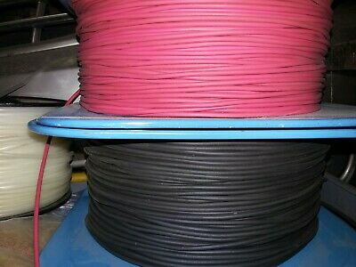 Great Quality Stranded Wire Kit UL 1007 /& 1569-300 Volts 500 FT 18 AWG White Electrical Hook Up Wire Spool