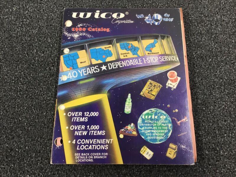 Wico 1980 Arcade Parts Catalog Manual- Pinball, Arcade, Jukebox, Vending BONUS