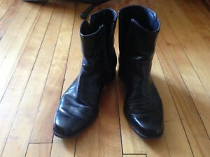 Florsheim men's leather boots $15 size 9
