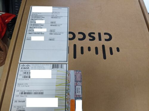 NEW SEALED CISCO  C9200-STACK-KIT SHIPS TODAY FROM USA! !! READY TO SHIP!
