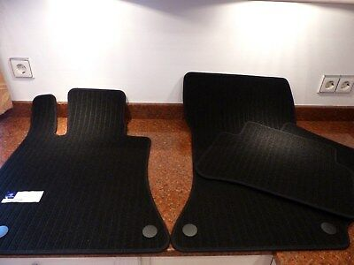 Original Fussmatten Mercedes E-Klasse  W212 S212 Ripsmatten schwarz