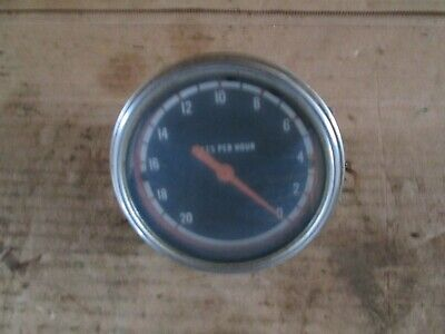Oliver Tractor 17501850.175518551950t195521502255 Good Working Mph Gauge