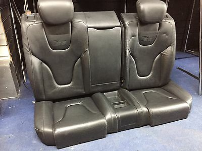 Audi S5 A5 Leather  Back Bench Seats