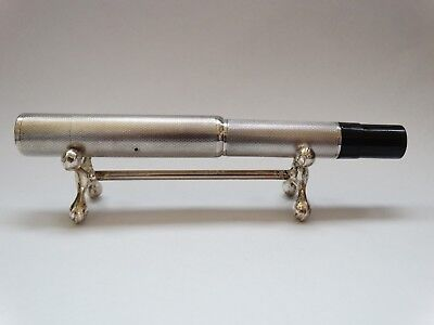 vintage Pelikan sterling silver Fountain Pen 14k gold nib ! SUPER RARE UNIQUE !