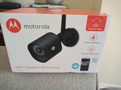 MOTOROLA FOCUS 72 SECURITY CAMERA NEW.