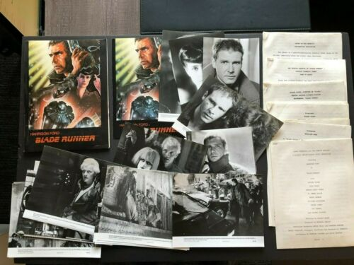 Blade Runner (1982) - Original Movie Press Kit w/Photos & Press News Sheets