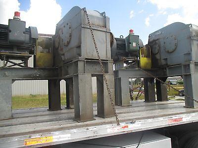FALK GEAR REDUCER 2130Y3-71-1 125HP ELECTRIC MOTOR TOSHIBA PKG W MT. STEEL BASE