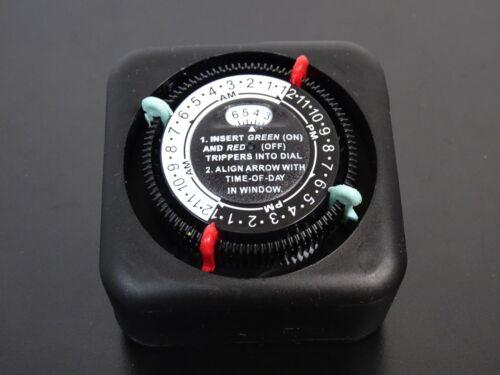 INTERMATIC TN111RM40 Timer,Mechanical,120V,9.5A,Plug In