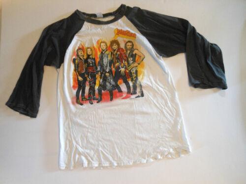 Judas Priest base ball shirt 1986 original Fuel for Life concert tour size ?
