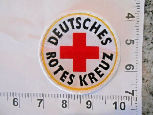 German Red Cross Patch  iron on OR sew on with FREE shipping