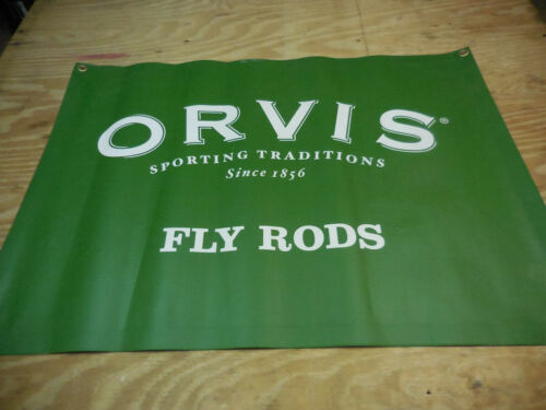 ORVIS  FLY FISHING RETAIL BANNER