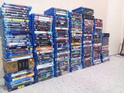 Huge collection 160 blurays for sale Rowville Knox Area Preview