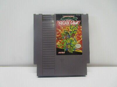 TEENAGE MUTANT NINJA TURTLES II 2 TMNT ARCADE NES Nintendo Original Game