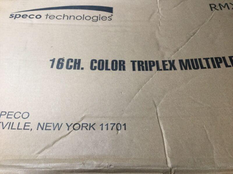 Speco RMX-16CD Multiplexer