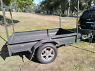 Box trailer 6ft x 4ft with ladder rack Windsor Hawkesbury Area image 2
