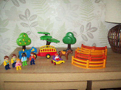 PLAYMOBIL bundle trees, people and more