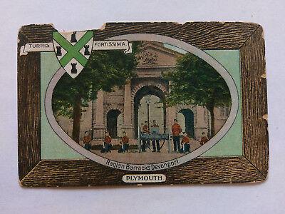 Usado, Plymouth Vintage colour postcard c1905 Raglan Barracks Devonport segunda mano  Embacar hacia Argentina